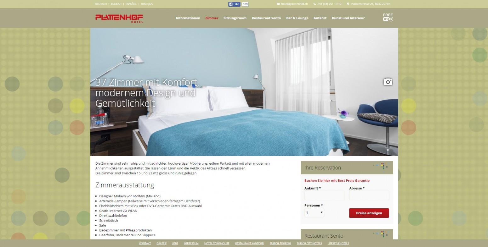 Hotel plattenhof gianluca leone for Design hotel plattenhof